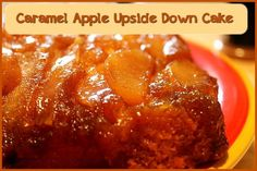 Caramel Apple Upside Down Cake  http://www.momspantrykitchen.com/caramel-apple-upside-down-cake.html