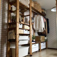 Bedroom Closet Design, Home Room Design, Closet Designs, Diy Wood Shelves, Diy Furniture Easy, Vintage Diy, Diy Storage, Wooden Diy, Home Organization