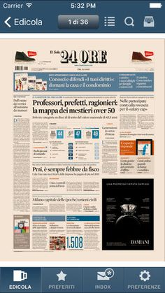 Il Sole 24 ORE on the AppStore