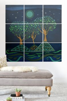Viviana Gonzalez Once Upon A Time Wood Wall Mural | DENY Designs Home Accessories
