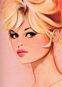 Jim Silke  Brigitte Bardot