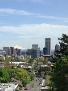 Spring in Portland, OR.