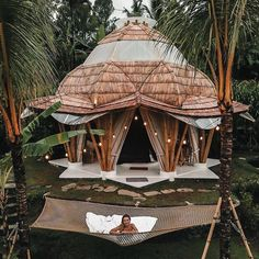 Escape the crowds to Camaya Bali's magical bamboo houses and experience the real Bali away from the crowds Bamboo House Bali, Bamboo House Design, Bali House, Ubud, Resort Bali, Cabana, Places To Travel, Places To Visit, Voyage Bali