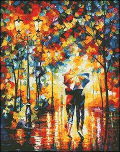 Sotto un unico ombrello contato la punta di PaulaHowardPatterns
