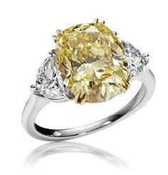 cannot get more perfect than a canary diamond. lovelovelove
