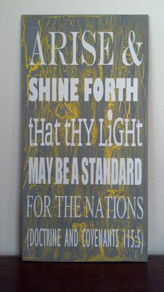 2012 LDS Youth Theme Vinyl by creekhollowcreations on Etsy, $5.00