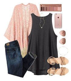 """""""Kylie's Contest//RTD"""" by polypuppy ❤ liked on Polyvore featuring Melissa McCarthy Seven7, RVCA, American Eagle Outfitters, Urban Decay, Jennifer Meyer Jewelry, CAM, Incase and plus size clothing"""