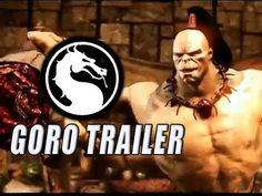 GORO - DLC Gameplay Trailer: Mortal Kombat X