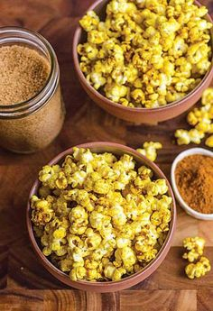 Curry adds heat to sweet, salty popcorn