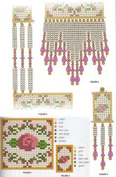 beading idea and pattern Beaded Necklace Patterns, Seed Bead Patterns, Peyote Patterns, Beading Patterns, Stitch Patterns, Native Beadwork, Native American Beadwork, Beaded Purses, Beaded Bags