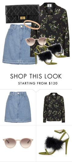 """""""Untitled #2553"""" by erinforde ❤ liked on Polyvore featuring Topshop, Ray-Ban and Cartier"""