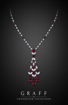 Graff Diamonds: Chandelier Necklace...Sooo pretty...can dream now to have it 1 day...