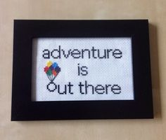 This Up-inspired design. | 21 Cross Stitch Patterns Every Disney Fan Will Want To Try