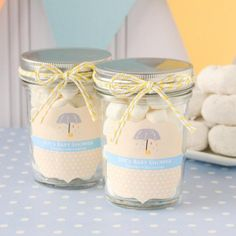 Personalized Baby Shower Mason Jars by Beau-coup