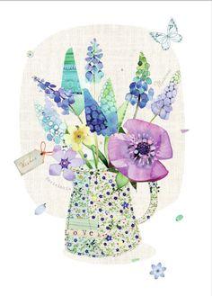 Lynn Horrabin - Muscari Flower Jug