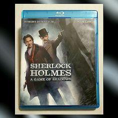 *** SOLD *** Sherlock Holmes: A Game of Shadows (Blu-ray/DVD, 2012, 2-Disc Set)