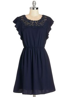 Flit Must Have Been Love Dress #blue #modcloth