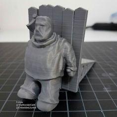 Hold the door Hodor! DesignerCon booth # 1222 #gameofthrones #gotseason6 #gameofthronesseason6 #hodor #holdthedoor #3dprinter #3dprinting #3dprint #3dprinted #3dprints #impresora3d #3dmodel #modeling #3дпринтер #3дпечать #arttoy #arttoys #designertoy #designertoys #customtoy #Toydesign  #customtoys  #DesignerCon #DCon #DesignerCon2016 #DCon2016 #Pasadena
