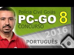 Concurso PC GO Polícia Civil Goiás 2016 Português - # 8