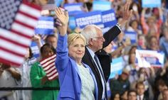 Democrats struggle for unity as protesters swarm Netroots convention Despite Bernie Sanders' endorsement of Hillary Clinton, the party faces fears of civil war: 'It's important for progressives not to be taken for granted' 07.17.16