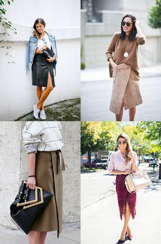 Nita Wrap Skirt Inspiration