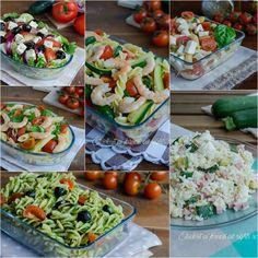 Raccolta di ricette estive, ricette per insalata di tutti i tipi, ricette di pasta fredda e soprattutto di piatti unici per pranzi e cene veloci e freschi..