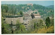 View of Eureka Springs Arkansas Postcard | eBay