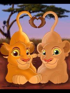 Simba & Nala - The Lion King Fan Art - Fanpop fanclubs Simba E Nala, Kiara Lion King, Roi Lion Simba, The Lion King 1994, Lion King Fan Art, Lion King Baby, Lion King Movie, King Simba, Wallpaper Iphone Disney