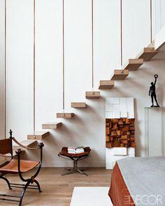 Modern Home With Sculptures. #stairs #minimalist #decor Haus Projekte, Neue  Häuser