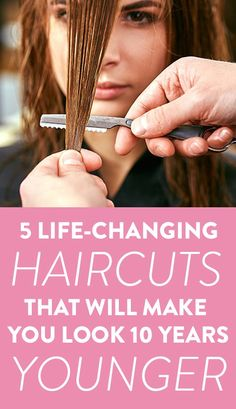 Changing Haircuts That Will Make You Look Years - Find Out Which Life Changing Haircuts Will Make You Look Years Younger And Bring Out Your Best Features Without Weighing You Down On Shefinds Com Medium Fine Hair, Medium Hair Styles, Curly Hair Styles, Medium Brown, Haircut For Older Women, Older Women Hairstyles, Easy Mom Hairstyles, Korean Hairstyles, Casual Hairstyles