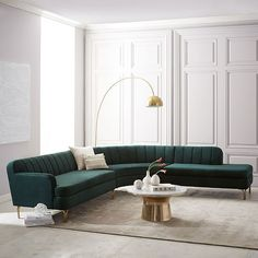 Valencia 3-Piece Terminal Chaise Sectional | west elm