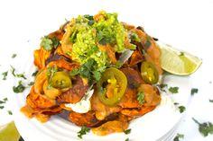 Vegan Sweet Potato Nachos