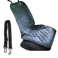Autoschondecke, Distianert Wasserdichter Beifahrersitzüberzug für Ihr Haustier mit einem justierbaren Sicherheitsgurt und einer Tragetasche