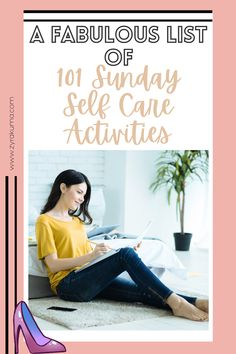 Are you looking for a list of self-care activities to do on a Sunday? Here are 101 self-care Sunday ideas to add to your self-growth bucket list. This is great if you're looking to take a break from building your business or looking for something relaxing to do. | lazy sunday self care | sunday self care list | happy sunday self care | sunday self care posts | sunday self care tips Sunday Activities, Self Care Activities, Sunday Routine, Dying Your Hair, Social Media Detox, Finding Inner Peace, Look At The Stars, Breath In Breath Out, Lazy Sunday