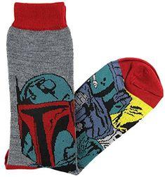 Cool Star Wars Socks For Men, Women, & Children Help Me Obi Wan, Cool Socks For Men, Star Wars Quotes, Star Wars Boba Fett, Gamer Gifts, Leggings, Star Wars Collection, Sock Shoes, Crew Socks