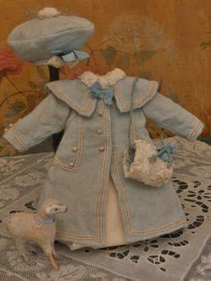 ~~~Beautiful Winter Coat-Set in Presentation ~~~ from whendreamscometrue on Ruby Lane