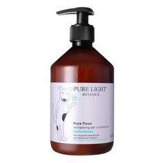 Revitalising 'Pure Paws' Organic Pet Shampoo and conditioner, Luxury Dog Shampoo Natural Dog Shampoo, Cat Shampoo, Cat Health Care, Dog Wash, Cool Pets, Pure Essential Oils, Conditioner, Organic, Pure Products