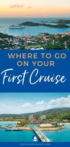 Where Should I Go on My First Cruise? Not sure where to go on your first cruise? Read our complete guide on how to pick the perfect itinerary for your initial voyage. #cruise #cruistips #cruiseplanning #eatsleepcruise Bermuda Vacations, Bahamas Vacation, Bahamas Cruise, Cruise Port, Cruise Travel, Cruise Vacation, Cruise Tips, Cruise Ship Reviews, Best Cruise Ships