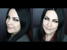 Amy Lee interview dream tv 2007 makeup tutorial - YouTube