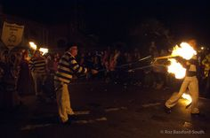 Lindfield Bonfire Society at Mayfield Bonfire Night 2014