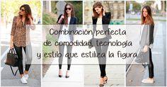Leggins B-Elegance, la combinación perfecta de comodidad, tecnología y estilo que estilizan la figura. #LaModaQueMejorTeVa #ViveLaModa #Mujer Leggings, Coat, Jackets, Fashion, Color Combinations, Feminine, Elegant, Style, Women