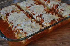 What's Cookin' in Mama Jan's Kitchen?: Spinach Lasagna Rolls Recipe