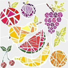 Fruits Royalty Free Stock Vector Art Illustration