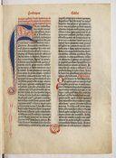[Bible de Gutenberg] : [Biblia latina]. Ex. sur vélin - Volume 1 -- 1455 -- livre