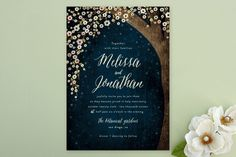 Outside Wedding Invitations by Rebecca Bowen at minted.com