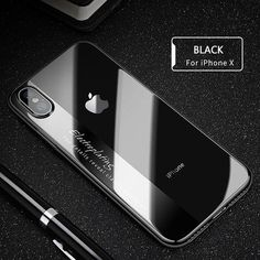 Raxfly have created this luxury transparent iPhone case with imported high quality German TPU material. This soft TPU material was specifically chosen for its environmentally friendly attributes, smooth touch feeling and its protective ability. The transp Iphone 7 Plus, Iphone 10, Coque Iphone, Apple Iphone, Iphone Cases, Iphone 7 Case Men, Pochette Portable, Modelos Iphone, Plus 8