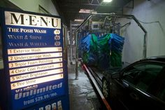 'The Posh Wash' the best car wash ever, so good we guarantee your car stays clean for a week!!!