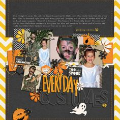 """By Kat - Using """"Scary Acres"""" & """"Scary Acres Bonus Alpha"""" by Britt-ish Designs."""