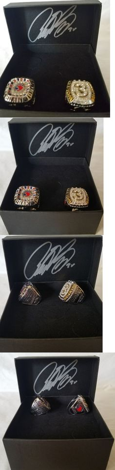 Racing-NHRA 2878: Antron Brown 2X And 3X Top Fuel Champion 2 Rings Set -> BUY IT NOW ONLY: $149.99 on eBay!
