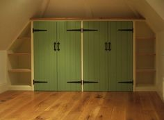 Cottage wardrobes